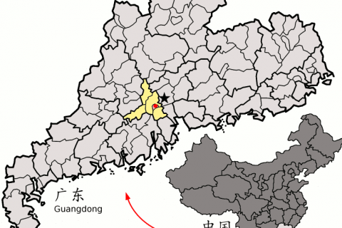 Location_of_Foshan_within_Guangdong_China