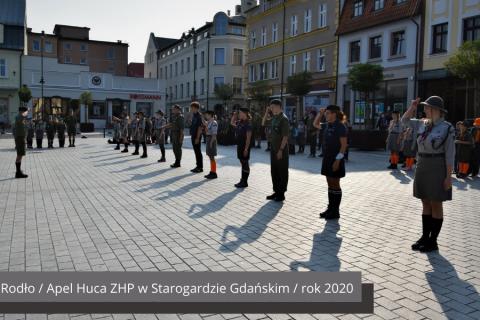 Zlot Związku Harcestwa Polskiego na Wyspie Sobieszewskiej 2018 rok
