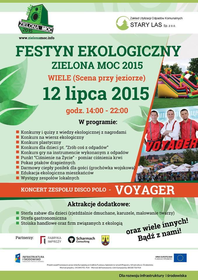 Festyn Ekologiczny Zielona Moc Starogard Gdański Tu