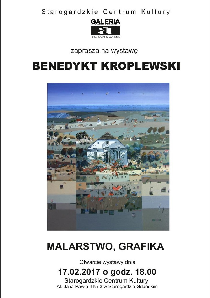 Wystawa Benedykta Kroplewskiego