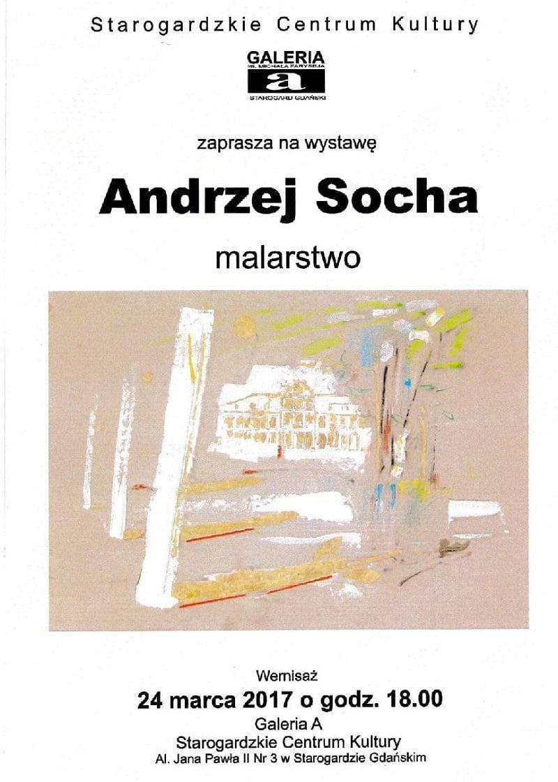 Wernisaż wystawy malarstwa Andrzeja Sochy