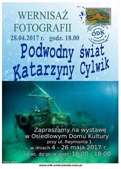 """Wernisaż wystawy fotograficznej Katarzyny Cylwik """"Podwodny Świat"""""""
