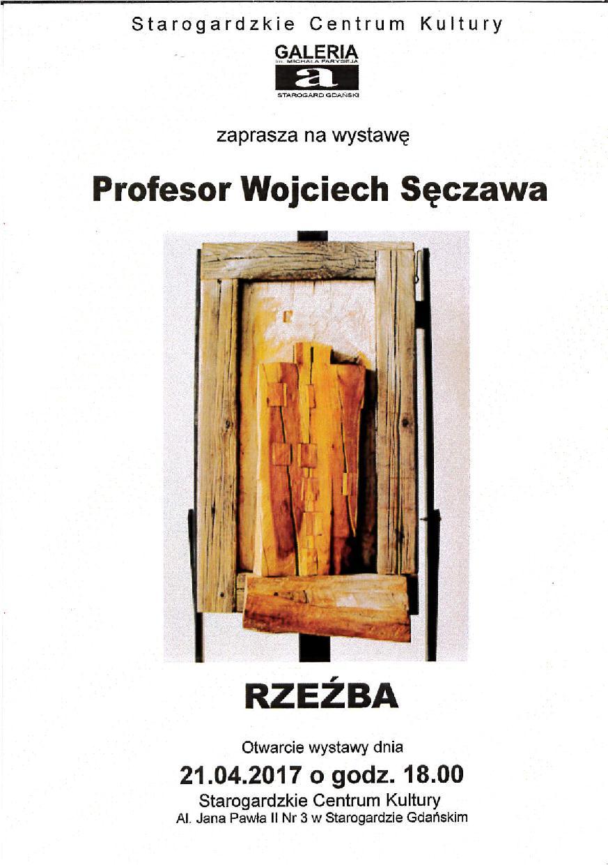 Wystawa rzeźby prof. Wojciecha Sęczawy