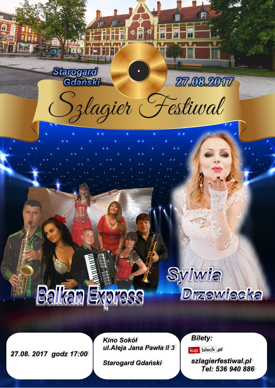 Szlagier Festiwal: Balkan Express i Sylwia Drzewiecka