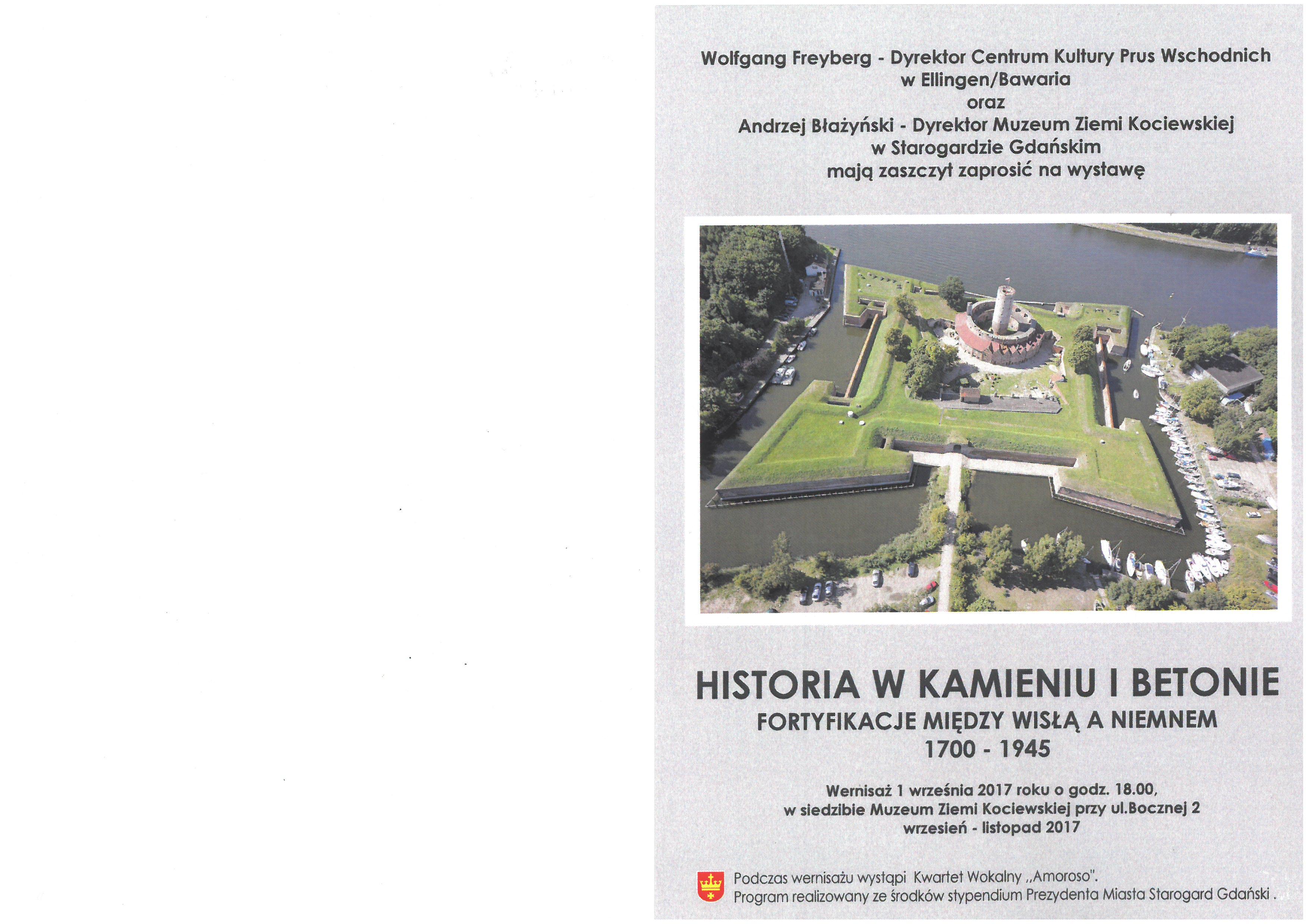 HISTORIA W KAMIENIU I BETONIE. FORTYFIKCJE MIĘDZY WISŁĄ A NIEMNEM 1700-1945.