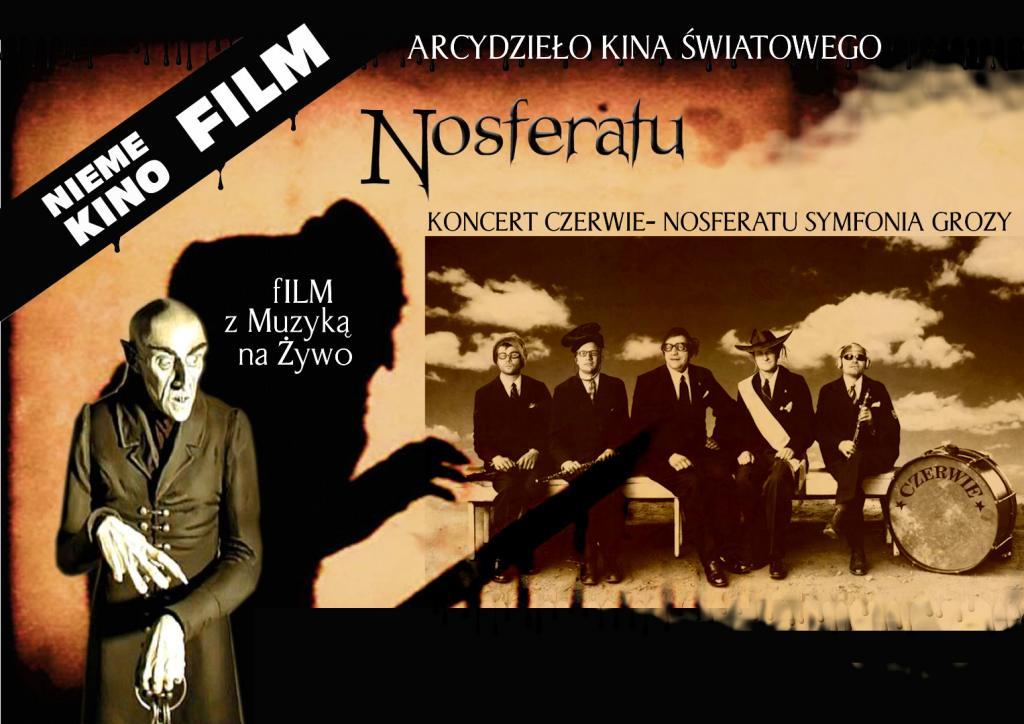 Kino nieme z muzyką na żywo - Nosferatu - symfonia grozy