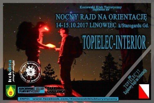 TOPIELEC-INTERIOR - Nocny Rajd na Orientację