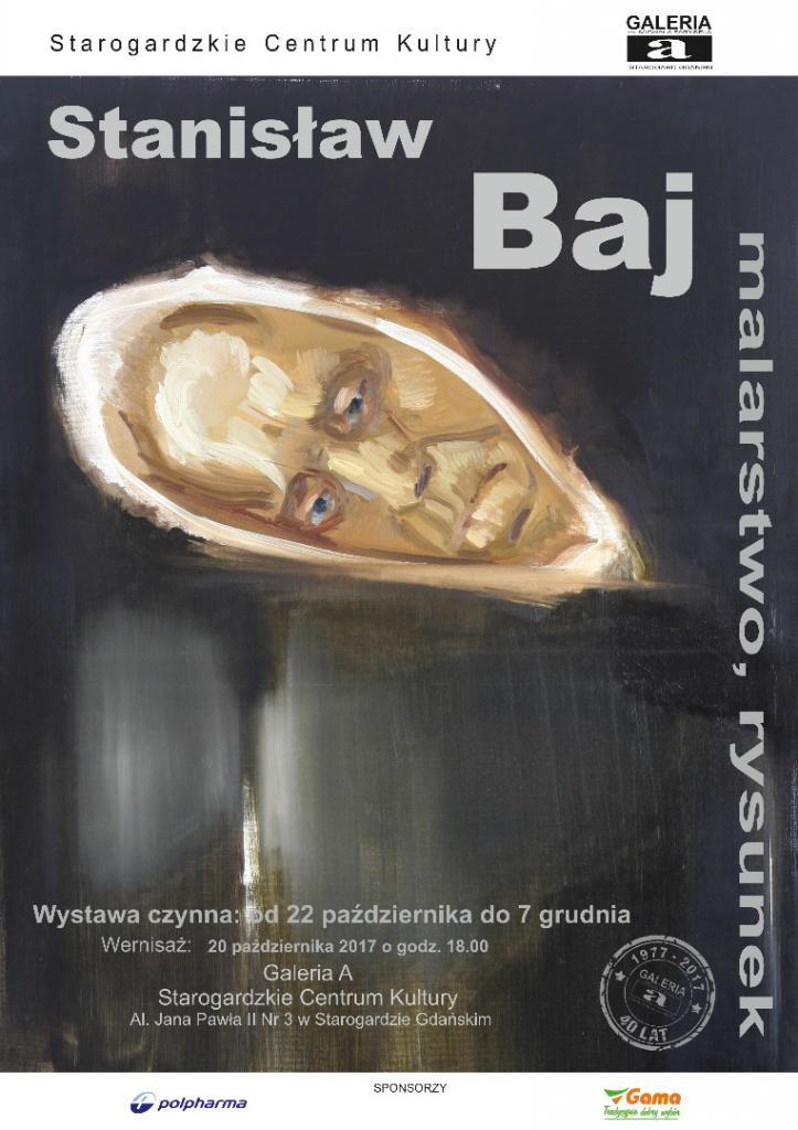 """Sztuka Polska - Stanisław Baj """"Malarstwo, rysunek"""""""