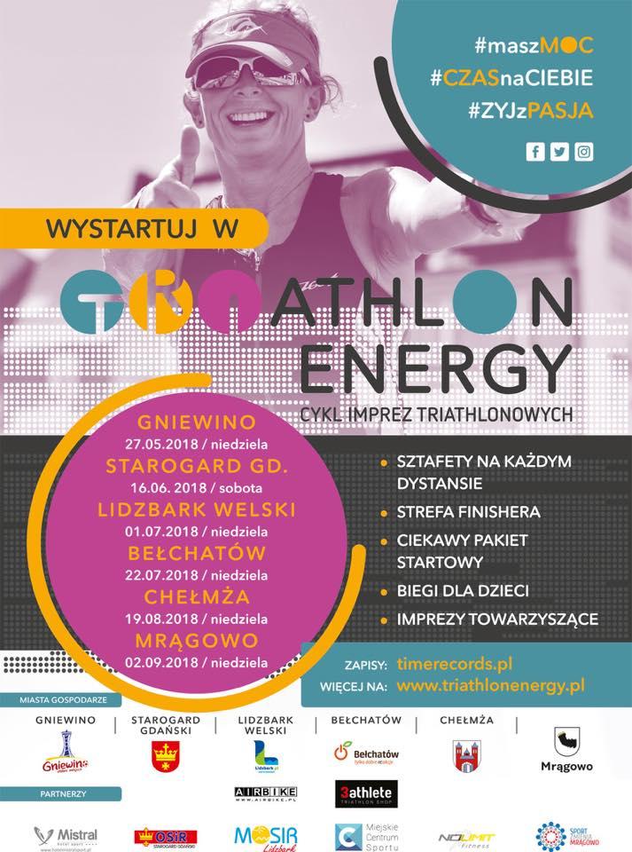TRIATHLON ENERGY STAROGARD GDAŃSKI 2018