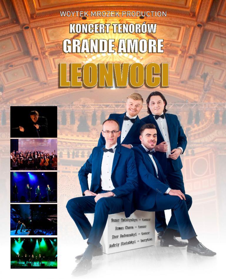 "Koncert Noworocznyn kwartetu Leonvoci pt. ""Grande Amore"""