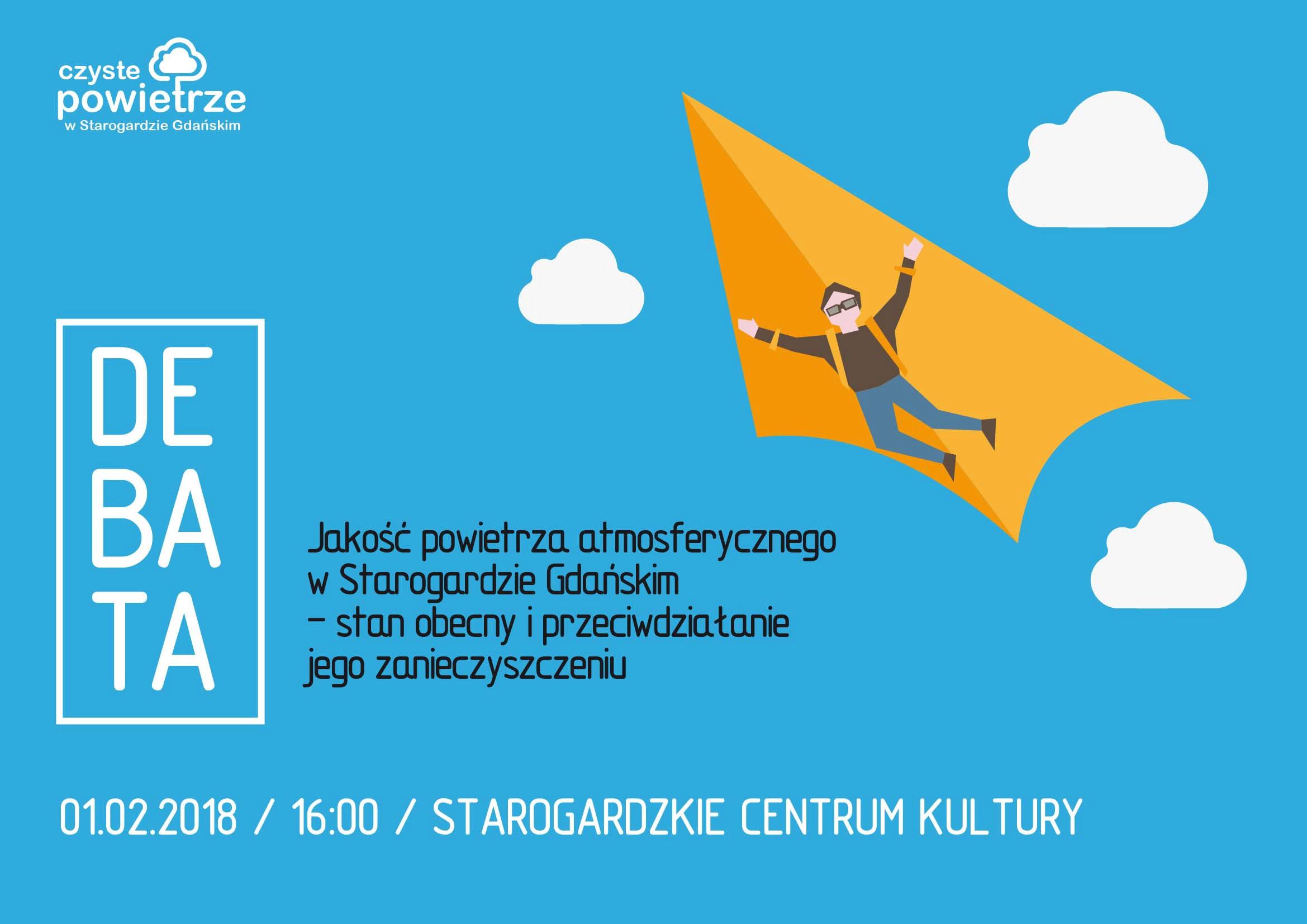 Czyste powietrze w Starogardzie Gdańskim - Debata społeczna