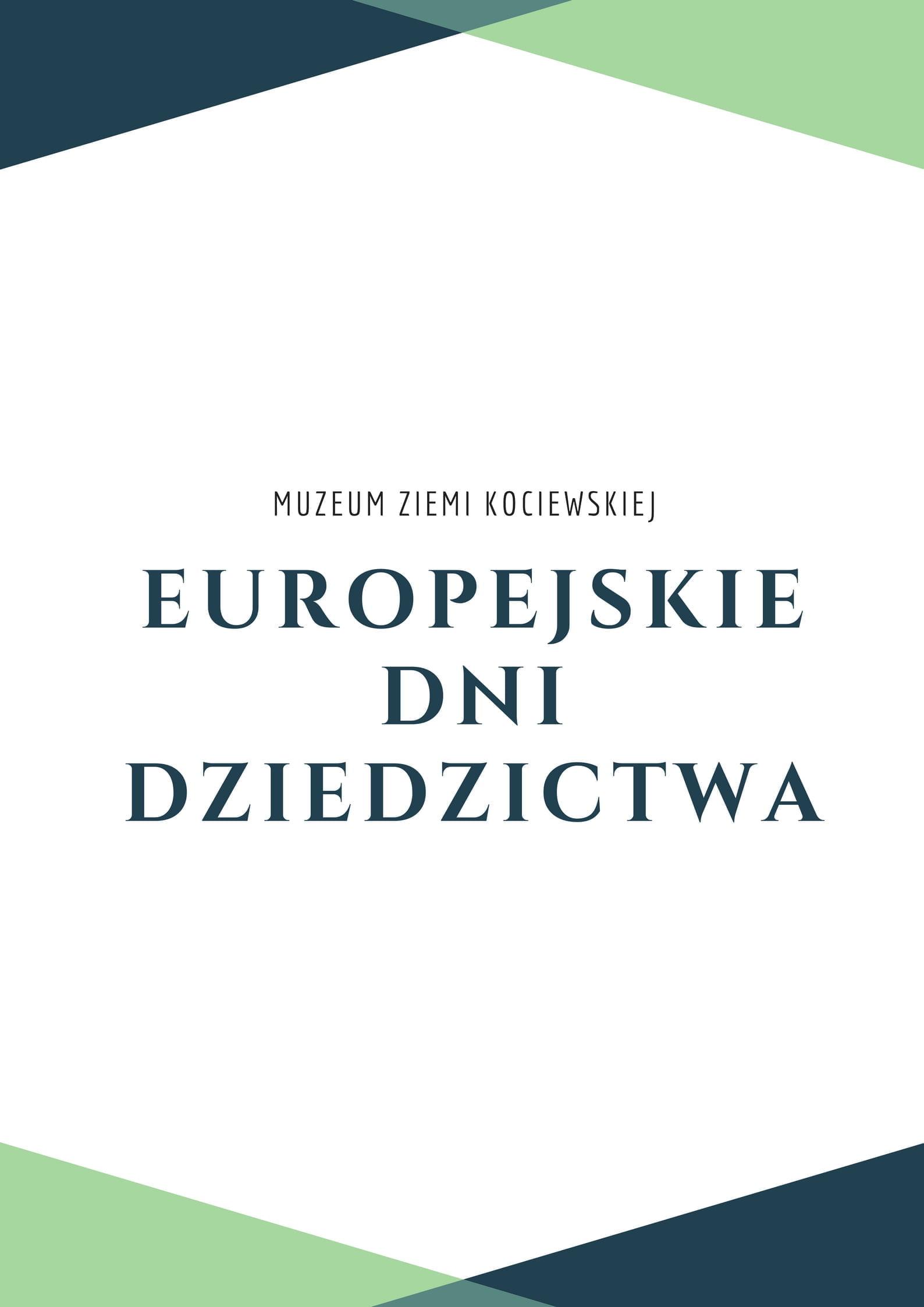 EUROPEJSKIE DNI DZIEDZICTWA
