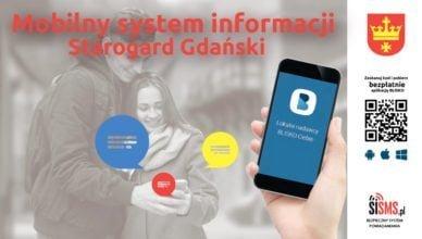 """Uruchom aplikację  """"Blisko"""" i bądź na bieżąco z wydarzeniami w Starogardzie"""