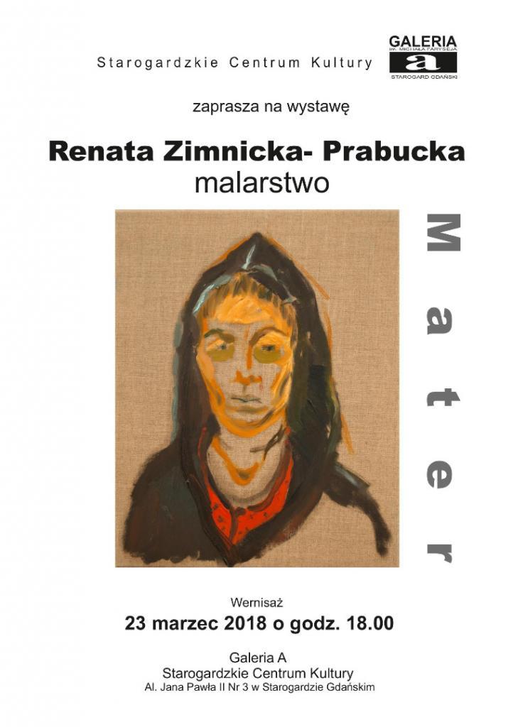 Wystawa malarstwa Renaty Zimnickiej - Prabuckiej