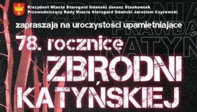 78.rocznica Zbrodni Katyńskiej – zapraszamy na uroczystości