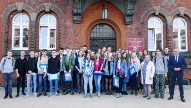 Młodzież z Diepholz odwiedziła prezydenta