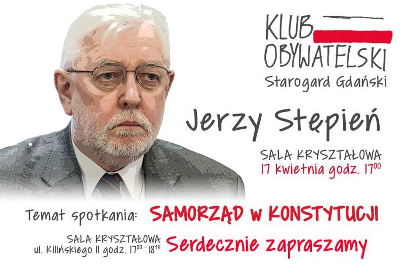 Spotkanie otwarte z prof. Jerzym Stępniem