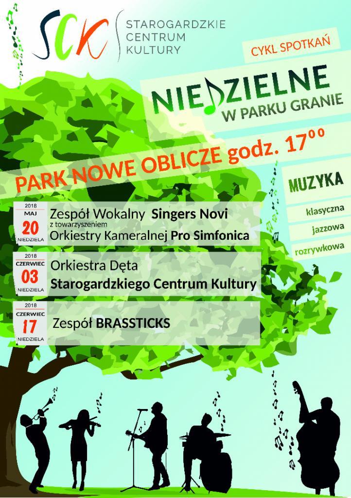Niedzielne w Parku Granie - Orkiestra Dęta SCK