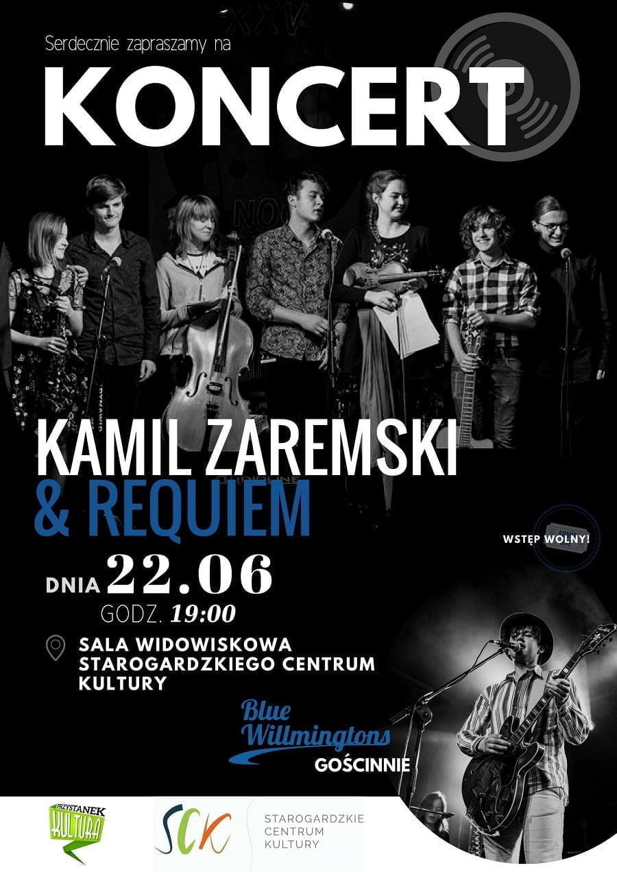 Przystanek Kultura - Koncert Kamila Zaremskiego & Requiem