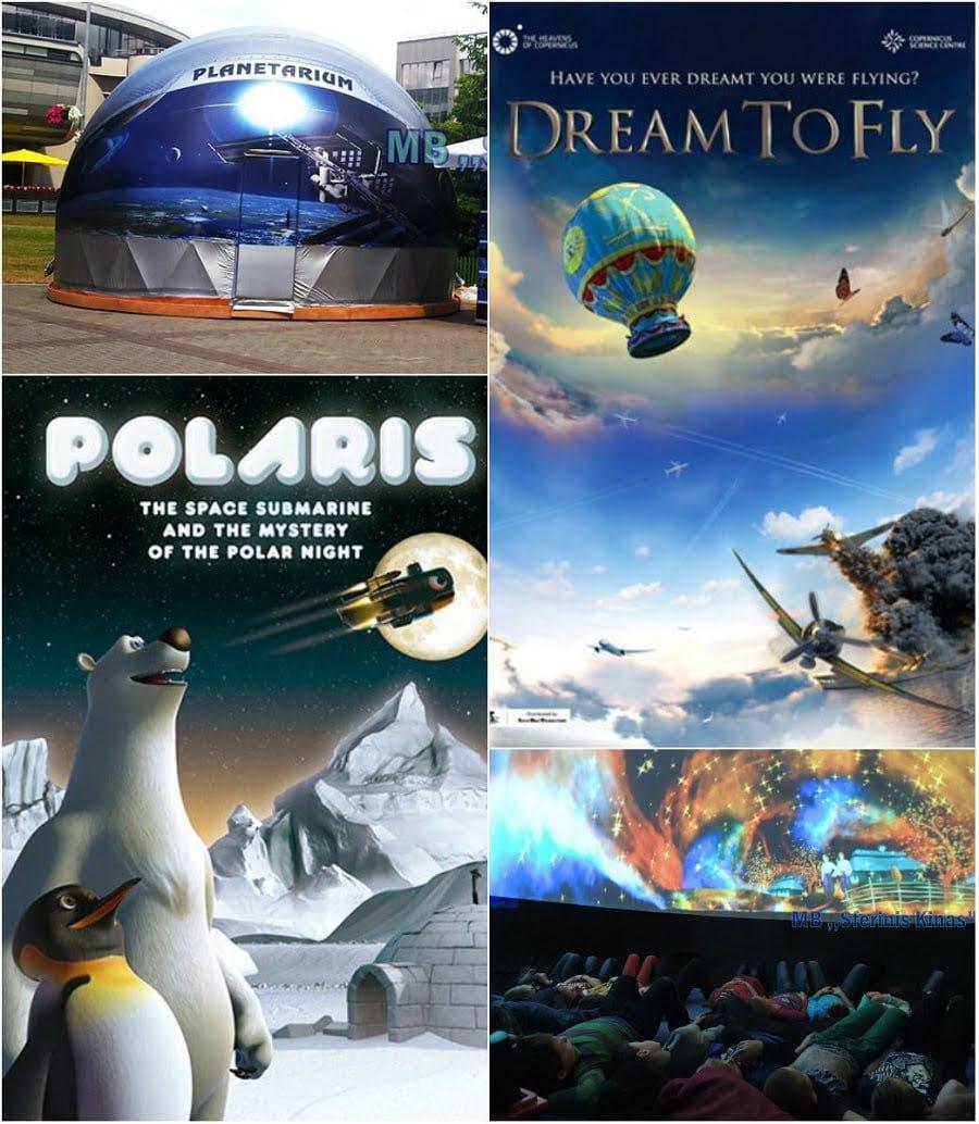 Kino Letnie - Pokaz kina sferycznego dla dzieci