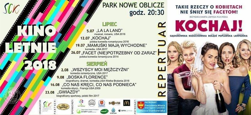 """Kino Letnie - film pt. """"Kochaj"""""""