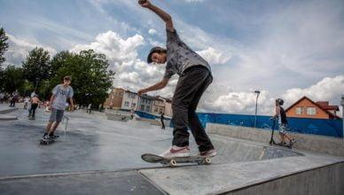 Skatepark oficjalnie otwarty