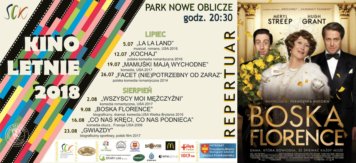 "Kino Letnie - film pt. ""Boska Florence"""