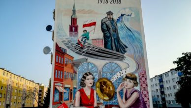 Nowy mural zdobi Starogard