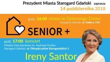 """Irena Santor zaśpiewa na otwarciu Dziennego Domu """"Senior +"""""""