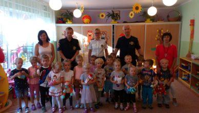 Straż Miejska z wizytą u przedszkolaków