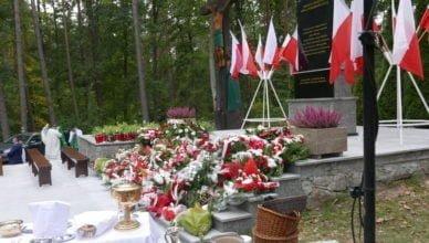 Pamięci pomordowanych w Lesie Szpęgawskim