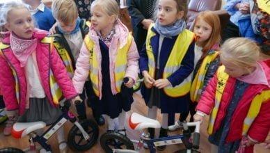Nowe rowery trafiły do przedszkolaków