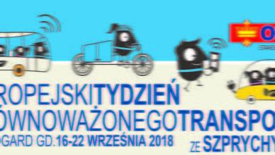 Europejski Tydzień Zrównoważonego Transportu z szprychy.com