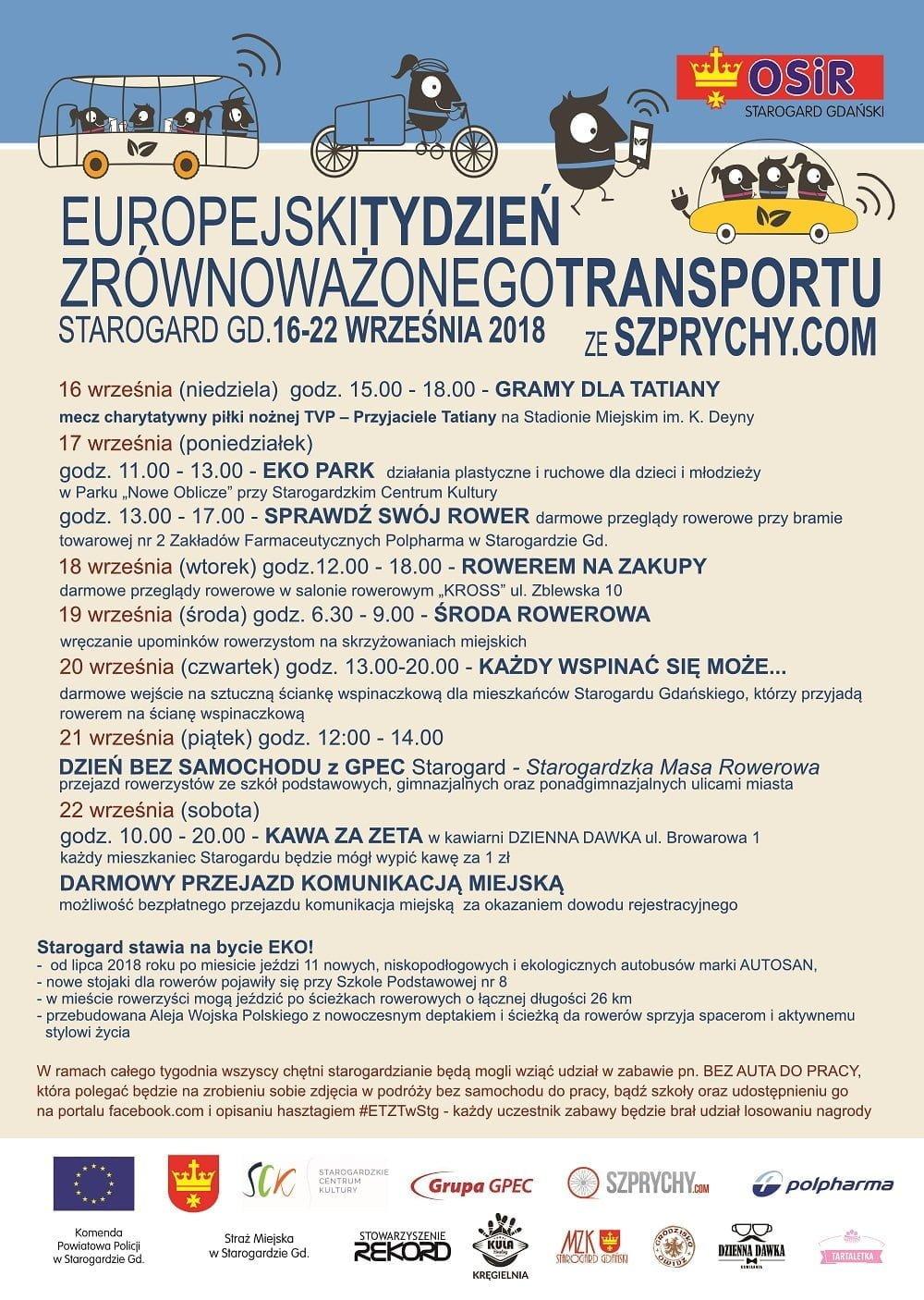 Europejski Tydzień Zrównoważonego Transportu - EKO PARK