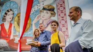 Nowy mural oficjalnie odsłonięty