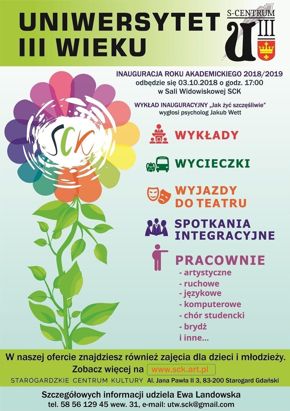 Inauguracja Roku Akademickiego 2018/2019 UTW