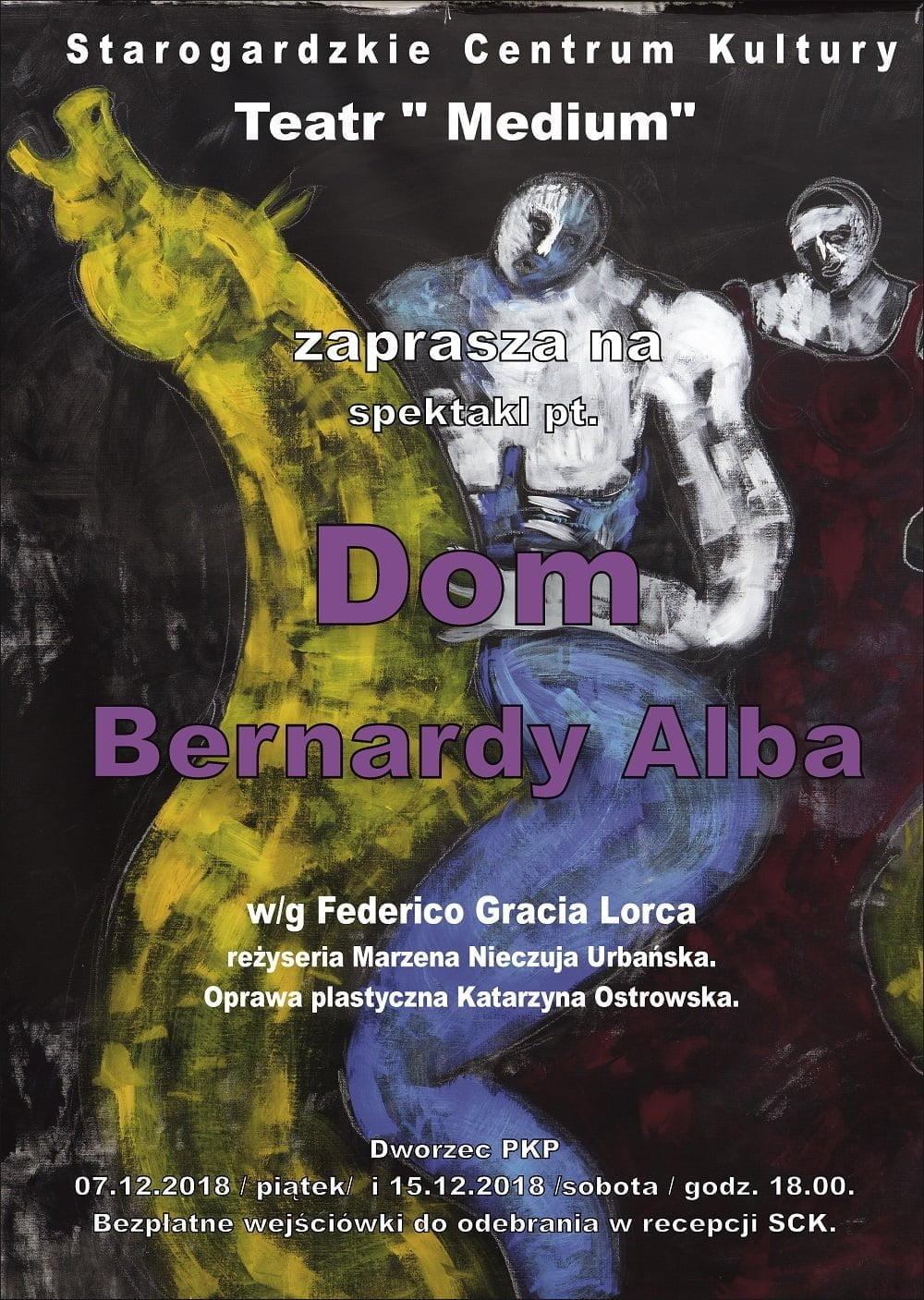 "Spektakl pt. ""Dom Bernardy Alba"" na dworcu PKP"