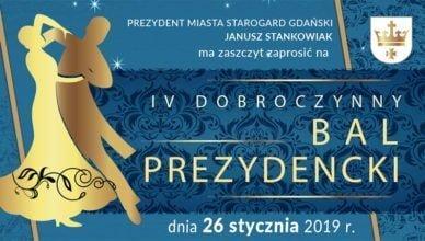 Zaproszenie na IV Dobroczynny Bal Prezydencki