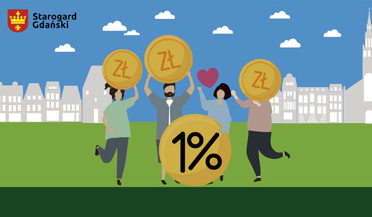 Rozlicz się i zostaw 1 % podatku w Starogardzie Gdańskim