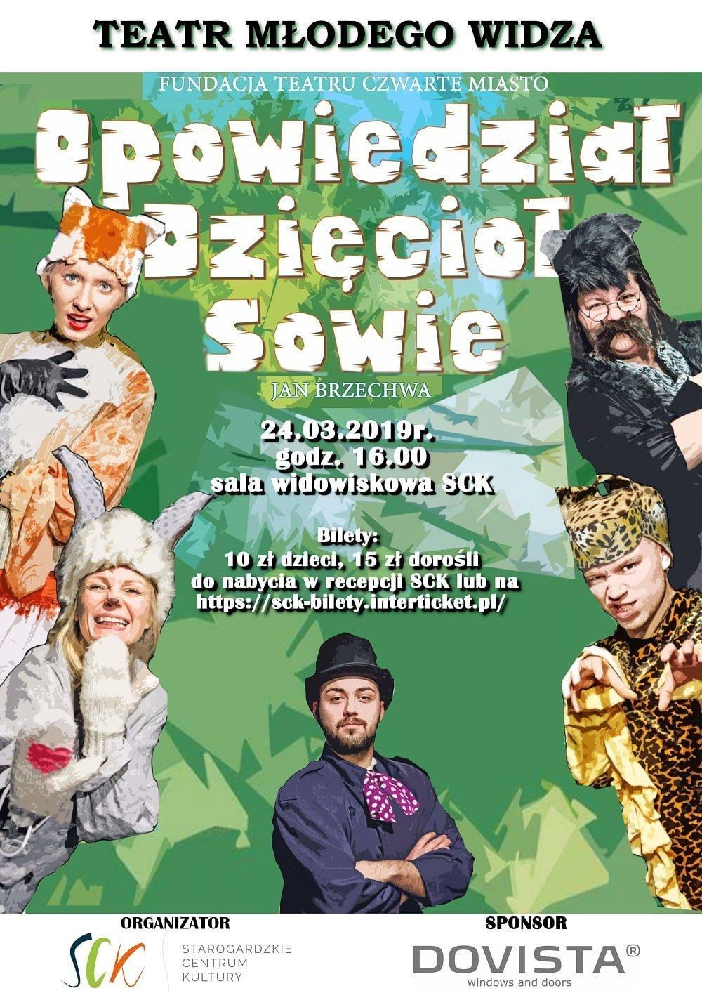 Teatr Młodego Widza - Opowiedział Dzięcioł Sowie