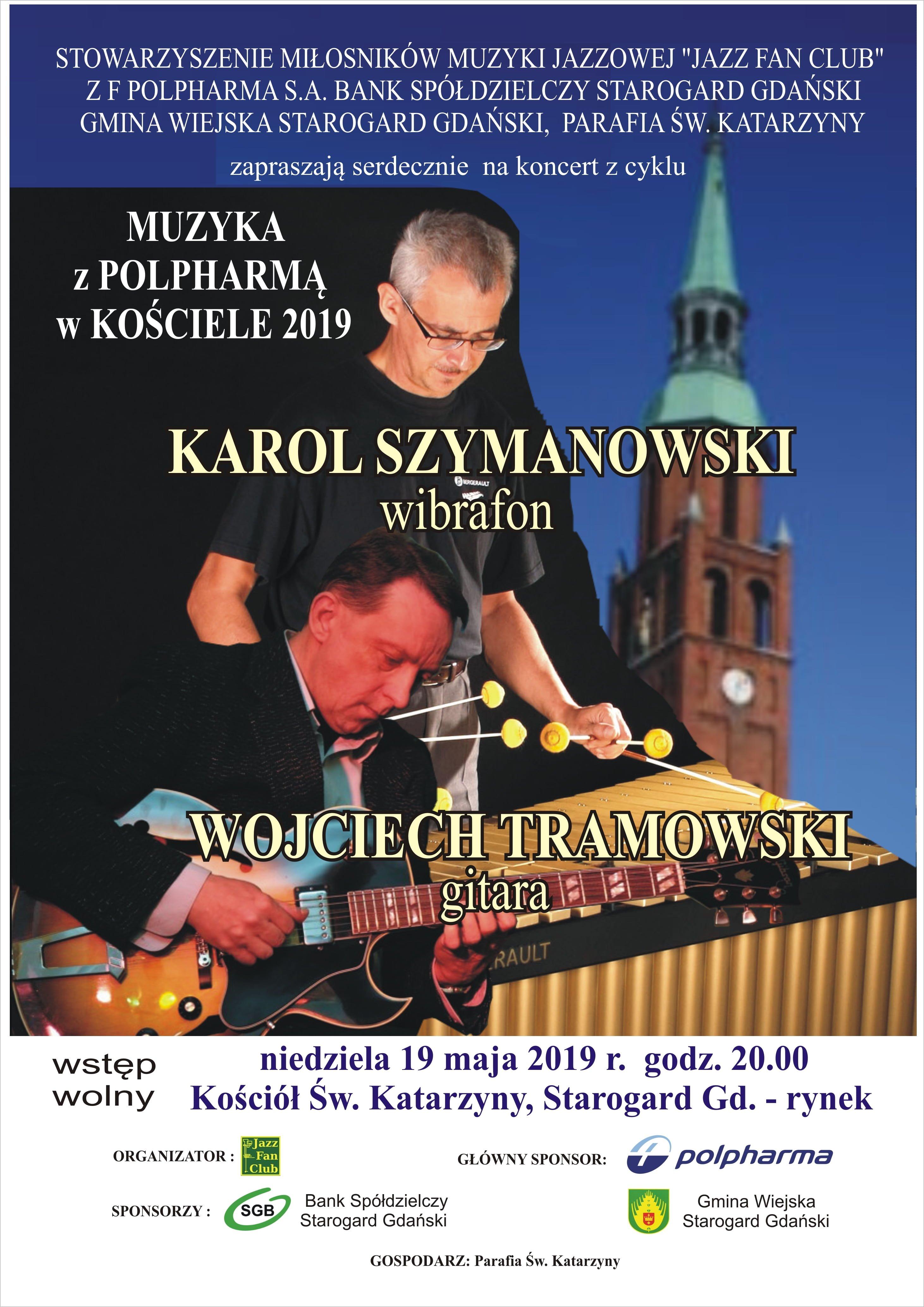 Wirtuoz gry na wibrafonie sześcioma pałkami w starogardzkim kościele św.Katarzyny!!!