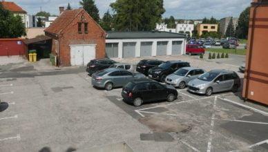Modernizacja parkingu Urzędu Miasta