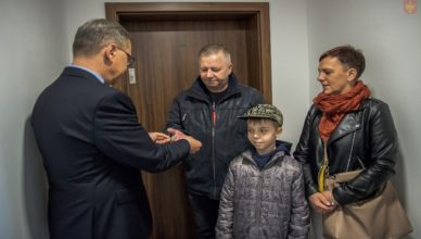 Dzięki Miastu 24 rodziny zamieszkają w nowym bloku przy ul. Kopernika 11b