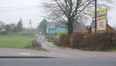 Przy ulicy Zielnej w Starogardzie
