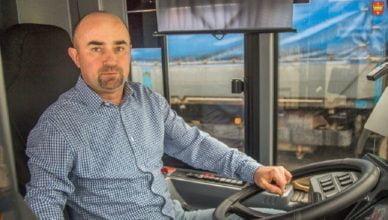 Kierowca autobusu bohaterem