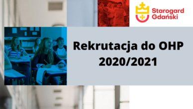 Nabór do Hufca Pracy na rok szkolny 2020-2021