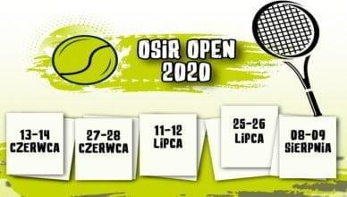 Turniej Tenisa Ziemnego – OSiR OPEN