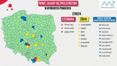 Powiat starogardzki ponownie w strefie zagrożenia