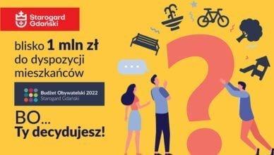 Rusza Budżet Obywatelski 2022 w Starogardzie