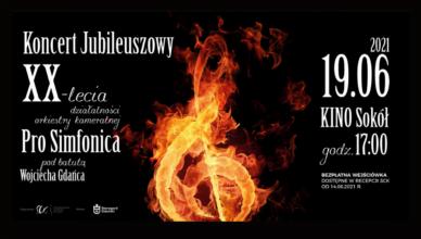 """""""Pro Simfonica"""" zabrzmi w kinie """"Sokół"""""""